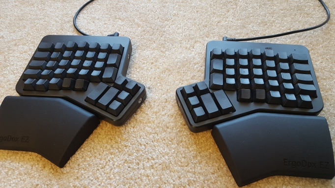 My Ergodox EZ's Custom Layout | implements Blog